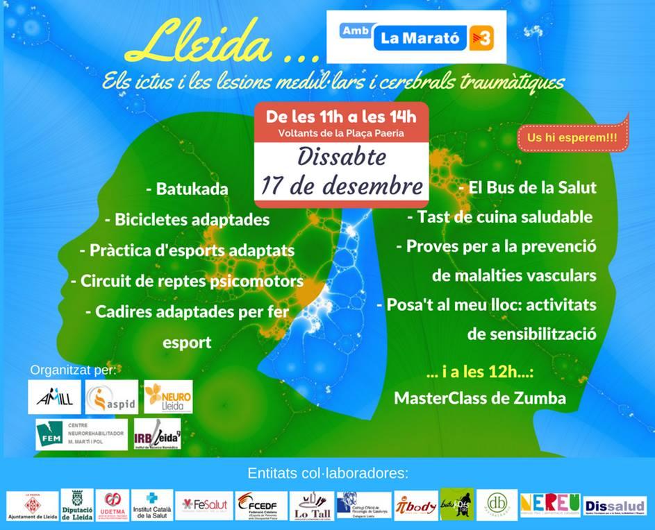 Dissalud participará este próximo sábado día 17 a La Marató 2016